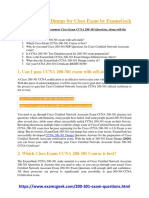 CCNA 200-301 Dumps for Cisco Exam by ExamsGeek