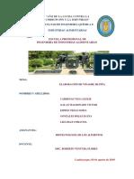 ELABORACION DE VINAGRE DE PIÑA (INFORME)