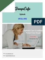 Dumpscafe Splunk SPLK 1002