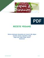 Detox - meniu vegan