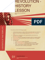 Revolution — History Lesson by Slidesgo