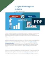 Digital Marketing Over Traditional Marketing (1)