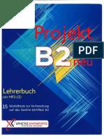 Projekt b2 Neu Lehrerbuch
