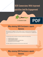 Tips To  Better B2B Conversions With Improved Customer Acquisition And Re-Engagement