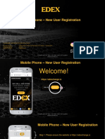 EDEX Registration Process