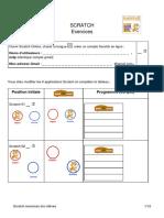 Scratch exercices doc élèves