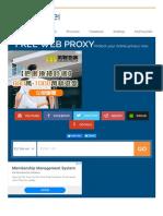 ProxySite.com - Free Web Proxy Site172201
