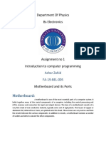 Assignment no 1 ICP