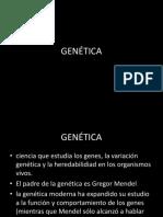 Genética - clase 1