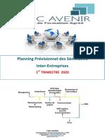 Planning 1er Trim 2020