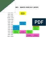 horario  del 2018-2.ods