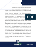Discurso de posesión de Rodolfo Ucrós