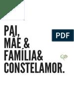 pai, mãe & família& Constelamor
