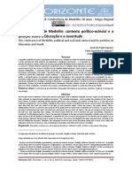 A CONFERÊNCIA DE MEDELLÍN CONTEXTO POLÍTICO-ECLESIAL E A POSIÇÃO SOBRE A EDUCAÇÃO E A JUVENTUDE