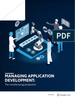 Managing application development