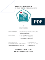 LAPORAN PRAKTIKUM MULTIMETER 1 Telkom 1 A