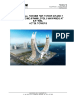 19144-Structural Design of Tower Crane (TC-7) Bracing- Report - 13-11-18