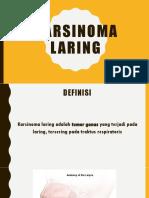 Karsinoma laring