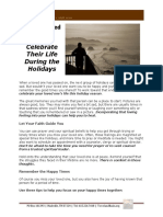 Lost a Loved One - How to Celebrate that Life During the Holidays