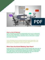 KICK OFF MEETING.pdf · version 1