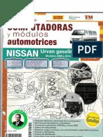 25 nissan urvan gasolina model 2014
