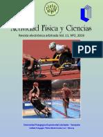Revista Actividad Física y Ciencias Vol. 11. N° 2