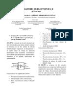 Laboratorio de circuitos electrónicos 2