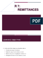 FIN263 CHAPTER 7-REMITTANCE