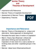 Marxian Theory