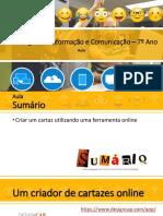 TIC7_Aula - Criar cartaz online.pptx