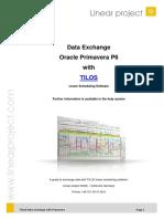 TILOS 8 Primavera Exchange