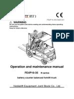 Forklift FE4P 3.5 Nobi