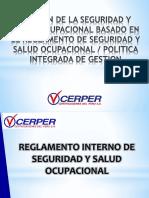 GESTIÓN DE LA SEGURIDAD Y SALUD OCUPACIONAL