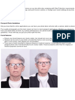 Photo Guidelines - Department of Foreign Affairs and Trade