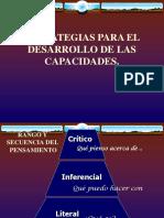 ESTRATEGIAS LITERAL  INFERENCIAL