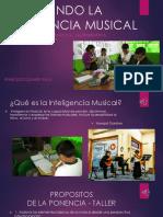 ESTIMULANDO LA INTELIGENCIA MUSICAL.ppt