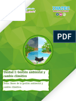 Tema 1 - Bases de la gestión ambiental y cambio climático (1)