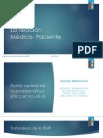 La relación Medico Paciente - Consentimiento Informado Diplomatura Bioetica 2019.pptx