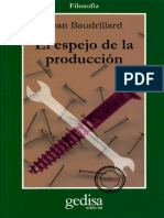 Baudrillard Jean - El Espejo De La Produccion.pdf