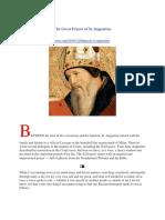 St. Augustine's Great Prayer