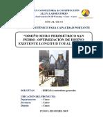 Estudio Mecanica de Suelos - Estacion Tren San Pedro