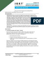 SN16-01, Revision 00 - Corrosion  Prevention and Control Program
