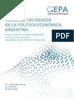 Viraje de 180 Grados en La Política Económica Argentina - CEPA