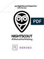 Setting Up NightScout Reporter