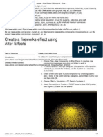 Adobe - After Effects CS3 Tutorial _ Create a Fireworks Effect Using After Effects