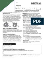 Diabetes UK Information Prescription_HbA1c
