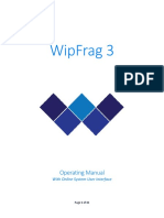 WipFrag 3 Manual