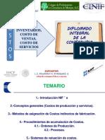 1  Inventarios y CV fiscal y financiero