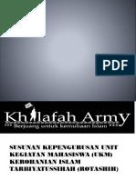 SUSUNAN KEPENGURUSAN UNIT KEGIATAN MAHASISWA (UKM)