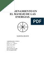 ENTRENAMIENTO EN EL MANEJO DE LAS ENERGIAS